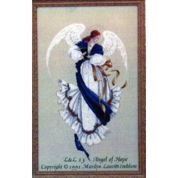 Angel of Hope Lavender and Lace