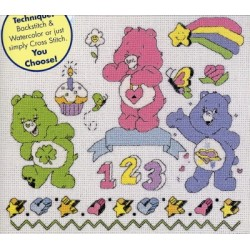 CareBears Sketchbook Leisure Arts