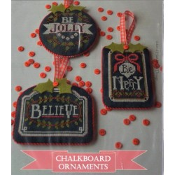 CHALKBOARD ORNAMENTS CHRISTMAS COLLECTION PART ONE Hands On Design