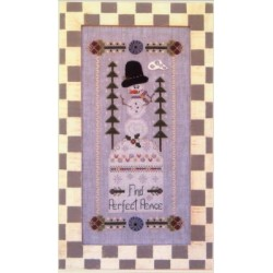 Find Perfect Peace with embelishments Full Circle Designs