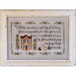 FOREST SNOWFALL Country Cottage Needleworks Model