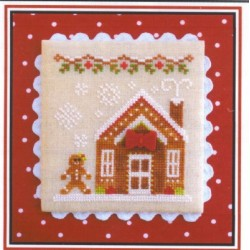 GINGERBREAD VILLAGE GINGERBREAD HOUSE 3 Country Cottage Needleworks