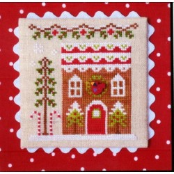 GINGERBREAD VILLAGE GINGERBREAD HOUSE 4 Country Cottage Needleworks