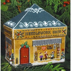GINGERBREAD NEEDLEWORK SHOP Victoria Sampler