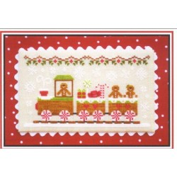 GINGERBREAD VILLAGE GINGERBREAD TRAIN Country Cottage Needleworks