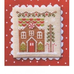 GINGERBREAD VILLAGE GINGERBREAD HOUSE 1 Country Cottage Needleworks