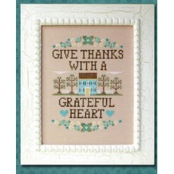 GIVE THANKS Country Cottage Needleworks