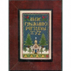 HOME AT CHRISTMAS Erica Michaels Needleart
