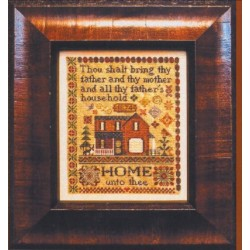 HOME UNTO THEE Erica Michaels Needleart