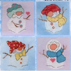 Lil Flakes Snowfall 2 Carolyn Manning Designs