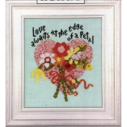 Love Awaits with buttons Art to Heart