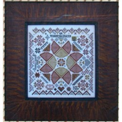 QUAKER MEDALLION SAMPLER CARRIAGE HOUSE SAMPLINGS