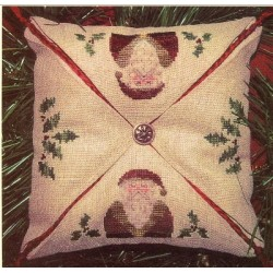 SANTA and THE HOLLY HOMESPUN ELEGANCE Model