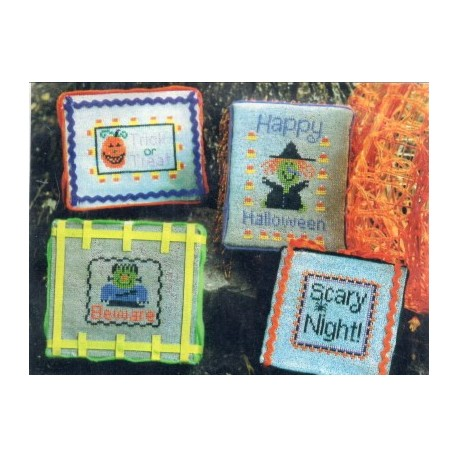 Witch Way to Halloween with floss Pickle Barrel Designs