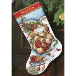 Santas Journey Stocking Dimensions
