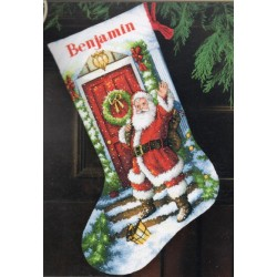 Welcome Santa Stocking Dimensions