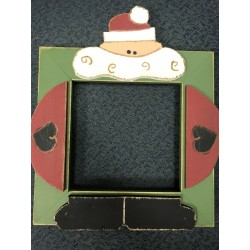 Santa 5 in x 5 in Mount Forest Frame
