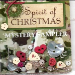 The Spirit of Christmas Embellishment pack Lizzie Kate