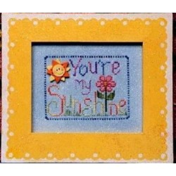 You Are My Sunshine Waxing Moon Frame