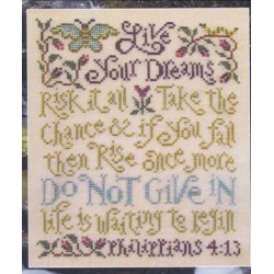 Live Your Dreams Silver Creek Samplers