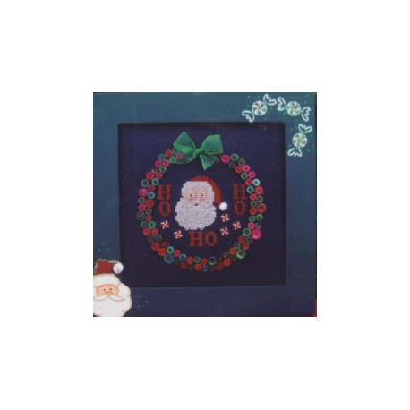 Buttoned Christmas Poppy Kreations Frame