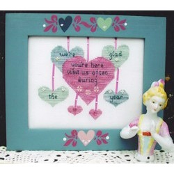 Glad Youre Here Poppy Kreations Frame