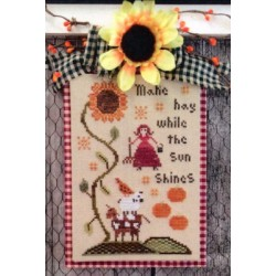 Make Hay While the Sun Shines Annie Beez Folk Art