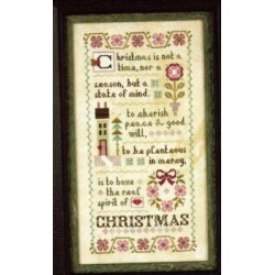 The Spirit of Christmas Mystery Sampler Part Three Lizzie Kate