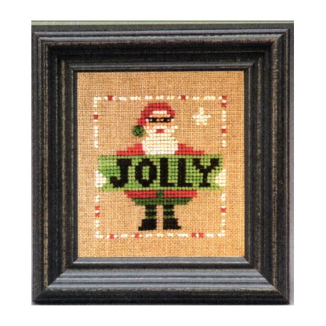 Holiday Reminder Jolly Santa The Trilogy
