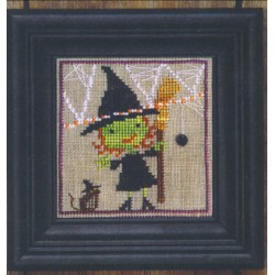 spooky spinners broom witch and mouse Bent Creek