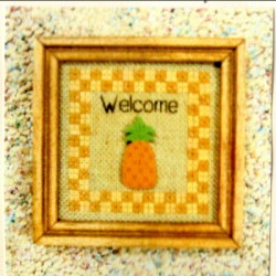 Welcome Pineapple GP50 Hob Nobb Designs
