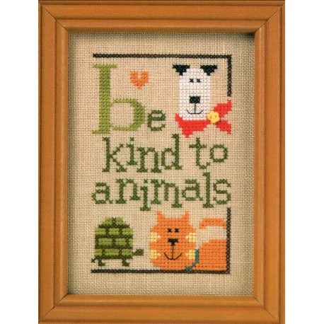 BE KIND TO ANIMALS F94 Lizzie Kate