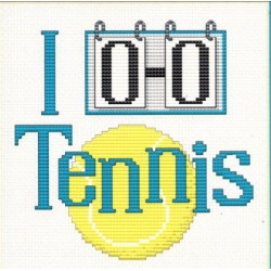 PLAY TENNIS Sue Hillis Designs