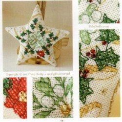 SPARKLY CHRISTMAS STAR FabyReilly Designs