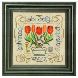 POTTED POSIES SAMPLER TULIPS Tellin Emblem