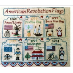 AMERICAN REVOLUTION FLAGS Mani di Donna