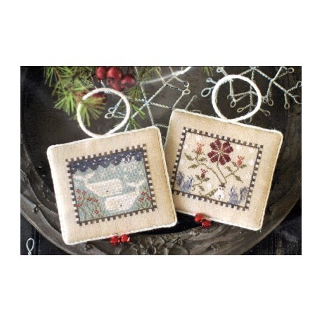 NOAHS CHRISTMAS ARK III (WHALES AND SQUIRRELS) Plum Street Samplers