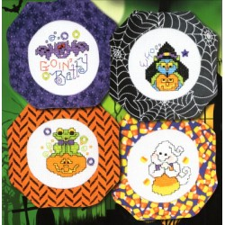 HALLOWEEN ORNAMENTS VIII Stoney Creek Collection