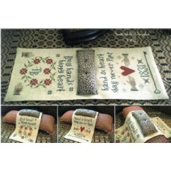 HEARTS CONTENT ARMCHAIR PINPOKE Scattered Seed Samplers