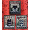 CHRISTMAS HOUSE TRIO Waxing Moon Designs