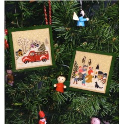 CHRISTMAS MEMORIES ORNAMENTS The Victoria Sampler