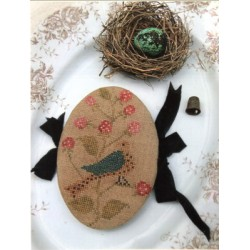 FEATHERED NEST PIN BOOK Stacy Nash Primitives