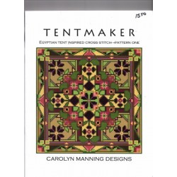 TENTMAKER EGYPTIAN TENT PATTERN ONE Carolyn Manning Designs