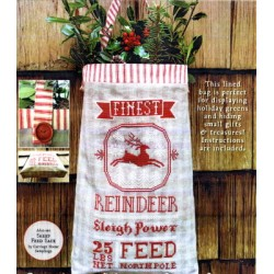 REINDEER FEED SACK Carriage House Samplings