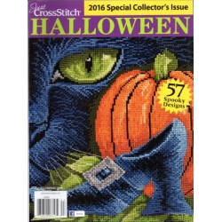 Just Cross Stitch Halloween October 2016