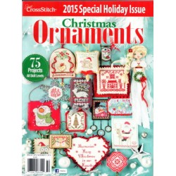 Just Cross Stitch Ornaments Winter 2015
