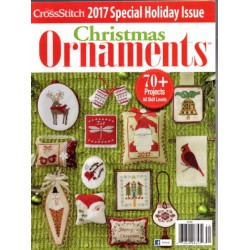 Just Cross Stitch Ornaments Winter 2017
