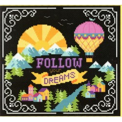 FOLLW YOUR DREAMS (WORDS TO LIVE BY PART 1) Tiny Modernist