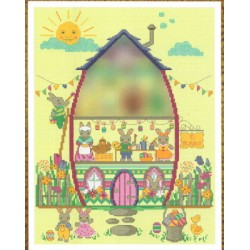 EASTER BUNNY HOUSE PART THREE THE STUDIO Tiny Modernist