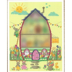 EASTER BUNNY HOUE PART TWO THE ENTRANCE Tiny Modernist